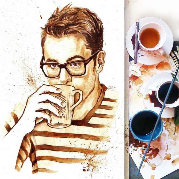coffee on instagram nuriamarq nuria salcedo valencia spain coffee artist sprudge